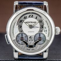 Montblanc Nicolas Rieussec Steel 43mm Arabic numerals United States of America, Massachusetts, Boston
