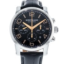 Montblanc Timewalker Steel 42mm Black