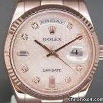 Rolex Day-Date 36 Oro rosado 36mm