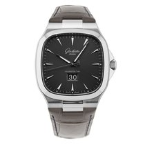 Glashütte Original Seventies Panorama Date 2-39-47-12-12-04 or 39-47-12-12-04 new