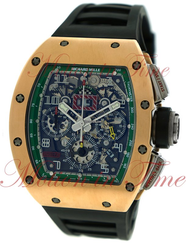 1a5ec4aa143 Richard Mille RM 011 Rose gold - all prices for Richard Mille RM 011 Rose  gold watches on Chrono24