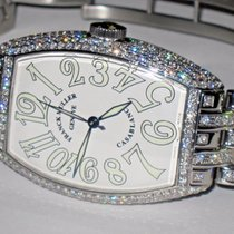 Franck Muller Casablanca Stainless Steel Diamonds