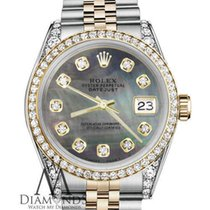 Rolex Lady-Datejust Gold/Steel 31mm Black No numerals United States of America, New York, New York