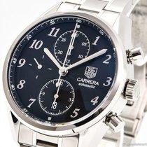 TAG Heuer Carrera Calibre 16 Steel 41mm Black Arabic numerals