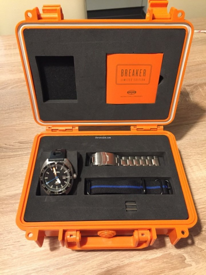 fossil uhr limited edition