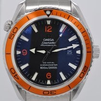 Omega Seamaster Planet Ocean Automatic Co-Axial Orange Bezel 45mm