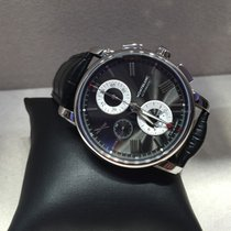 Montblanc 4810 Chronograph Automatic Black Alligator and...