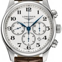 Longines Steel Automatic Silver 44mm new Master Collection