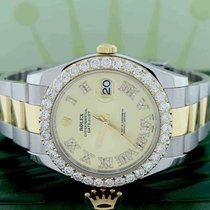 Rolex Datejust II Stahl 41mm Champagnerfarben Römisch