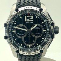 Chopard Superfast tweedehands 45mm Zwart Chronograaf Datum Rubber