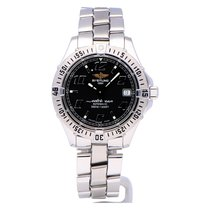 Breitling Colt Automatic Steel 38mm Black Arabic numerals