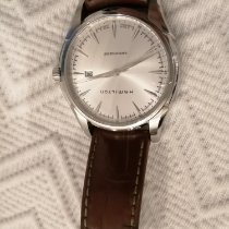Hamilton Jazzmaster Viewmatic pre-owned 44mm Date Leather