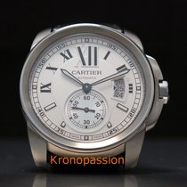 Cartier Calibre de Cartier Steel 42mm Silver Roman numerals United States of America, Florida, Boca Raton