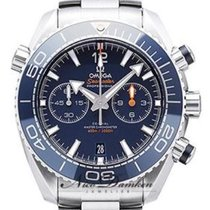 Omega Seamaster Planet Ocean Chronograph Steel 45.5mm Blue Arabic numerals