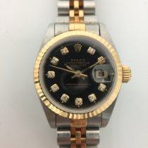 勞力士 Lady-Datejust 金/鋼 26mm 黑色 香港, Hong Kong