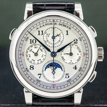 A. Lange & Söhne 1815 Platinum 41.9mm Silver Arabic numerals United States of America, Massachusetts, Boston