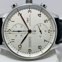 IWC Portuguese Chronograph Acero 41mm Plata Árabes España, Palau Solita i Plegamans - Barcelona