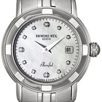 Raymond Weil Parsifal Steel 26mm Mother of pearl United States of America, New York, New York