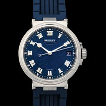 Breguet Marine White gold 40mm Blue United States of America, California, San Mateo