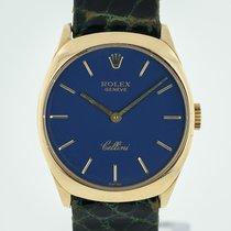 Rolex Cellini Yellow gold 24.5mm Blue No numerals United States of America, California, Pleasant Hill