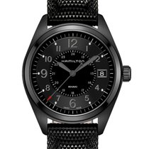 Hamilton Khaki Field Steel 40mm Black Arabic numerals