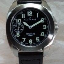 Askania Stahl 45,5mm Handaufzug Kaufmann Magnum Classic neu