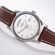 Breitling Transocean Day & Date Steel 43mm White No numerals United States of America, New Jersey, Princeton