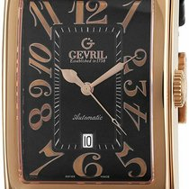 Gevril Or rose 44mm Remontage automatique 5101 occasion