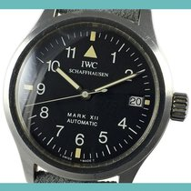 IWC Pilot Mark Otel 36mm Negru Arabic