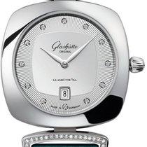 Glashütte Original Pavonina new 2014 Quartz Watch with original box and original papers 03-01-10-12-02
