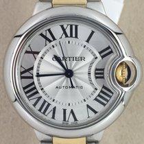 Cartier Ballon Bleu 33mm новые Автоподзавод Часы с оригинальными документами и коробкой W2BB0002