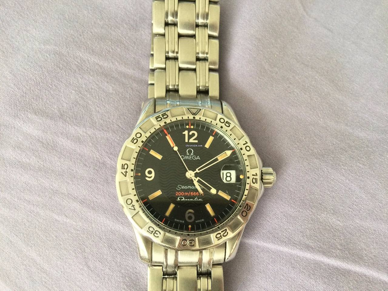 e9b6a9641fb Omega Seamaster 200m Omegamatic Auto Quartz Watch 2514.50