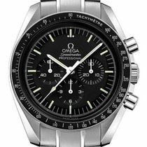 Omega OMEGA MOONWATCH PROFESSIONAL 311.30.42.30.01.005 Acier 2019 Speedmaster Professional Moonwatch nouveau