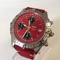 Breitling LONGITUDE - Red Dial - Perfect - New Service