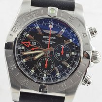 Breitling Chronomat 47 Gmt Limited Edition Ab0412 Stahl Top...