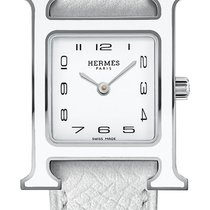Hermès Steel 21mm Quartz Heure H new