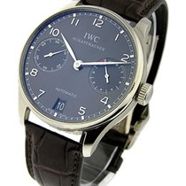 IWC 500106 Portuguese 7 Day Automatic - Grey Dial White Gold...