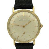 Tiffany Mens Vintage 14k Yellow Gold Tiffany & Co 17 Jewels...