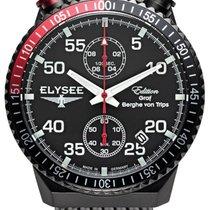 Elysee Acier 44mm Quartz Elysee  80522M Rally Timer I nouveau
