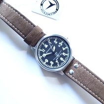 Aristo Steel 42mm Quartz ME-42BF109 Beobachter new