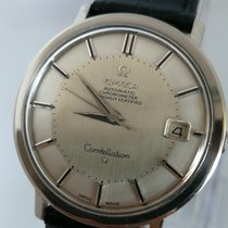 Omega Constellation steel Pie Pan SS cal. 561 ST 168.004 RARE
