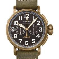 Zenith Pilot Type 20 Extra Special Bronze 45mm Black Arabic numerals United Kingdom, London