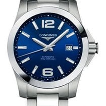 Longines Conquest Steel 39mm Blue United States of America, New York, Airmont