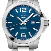 Longines Conquest Steel 43mm Blue United States of America, New York, Airmont