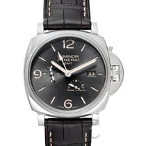Panerai Luminor Due Acero 45.00mm Gris