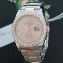Rolex Datejust NEW 126281RBR Everose/Steel Rose Diamond Dial NEW