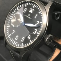 Steinhart pre-owned Manual winding 47mm Black 3 ATM