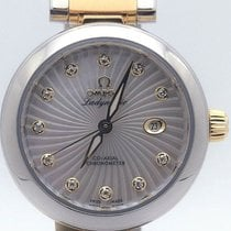 Omega De Ville Ladymatic Gold/Steel 34mm Mother of pearl United States of America, Illinois, BUFFALO GROVE