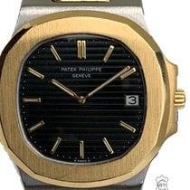 Patek Philippe 3700 Gold/Stahl 1984 Nautilus 42mm gebraucht