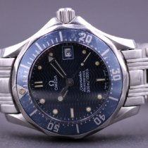 Omega Seamaster Steel 28mm Blue